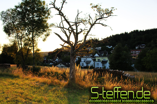 Sunset in Steinen