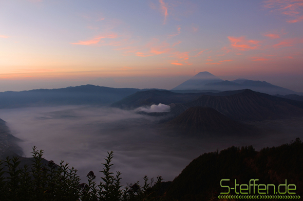 View of the Semeru Massif
